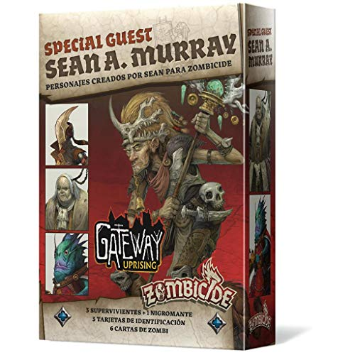 Edge Entertainment- Zombicide Black Plague - Green Horde Special Guest: Sean A. Murray, Color (EECMZB44)