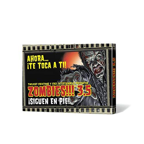 Edge Entertainment- Zombies. 3.5: ¡siguen en pie. - español, Color (EDGTC35)