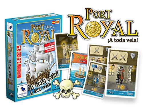 Ediciones MasQueoca - Port Royal A Toda Vela (Español)(Catalán)