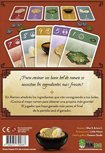 EDICIONES PRIMIGENIO- Ramen - Español, Multicolor (EPRA0001)