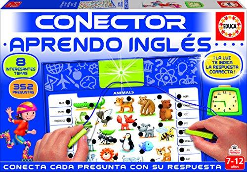Educa- Conector Aprendo Inglés Juego Educativo para niños, a Partir de 7 años (17206)