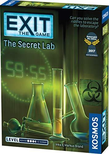 El laboratorio secreto [Version en Ingles]