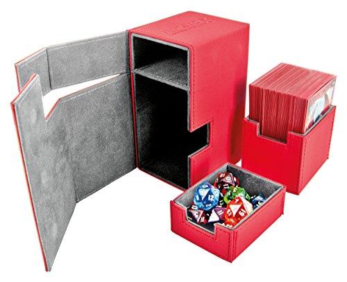 Êltimo Guardia UGD010223 - El Caso del tirón y la Bandeja Cubierta 80, Xeno Piel, tamaño estándar, Rojo