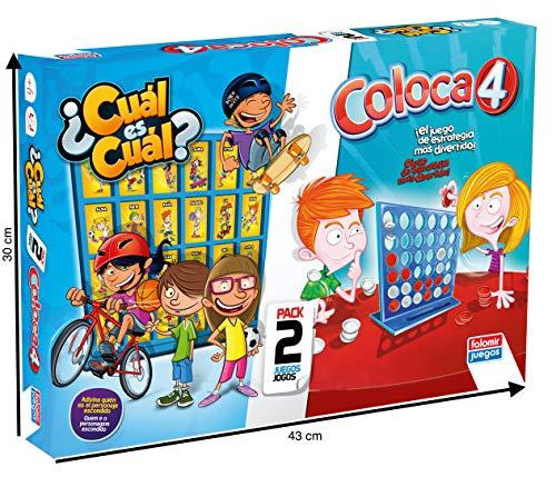 Falomir Coloca 4 Cuál (Pack mesa. Juegos Clásicos. (646474) , color/modelo surtido
