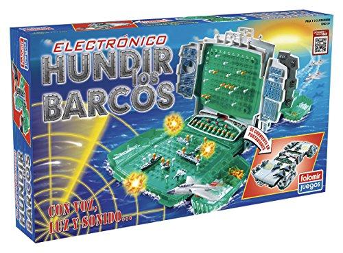 Falomir Hundir los Barcos Electrónico Mesa. Juego Clásico. (32-22004)