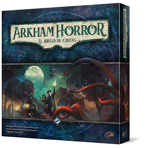Fantasy Flight Games Arkham Horror El Juego de Cartas (Edge Entertainment EDGAHC01)