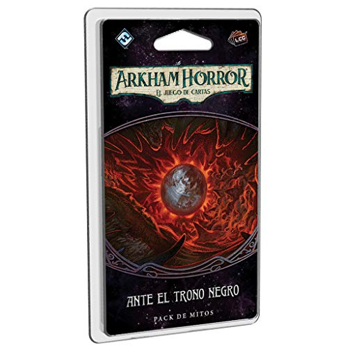Fantasy Flight Games- Arkham Horror LCG - Ante el Trono Negro - Español, Color (AHC35ES)