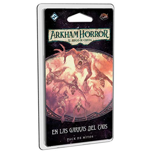 Fantasy Flight Games- Arkham Horror LCG - En Las Garras del Caos, Color (AHC34ES)