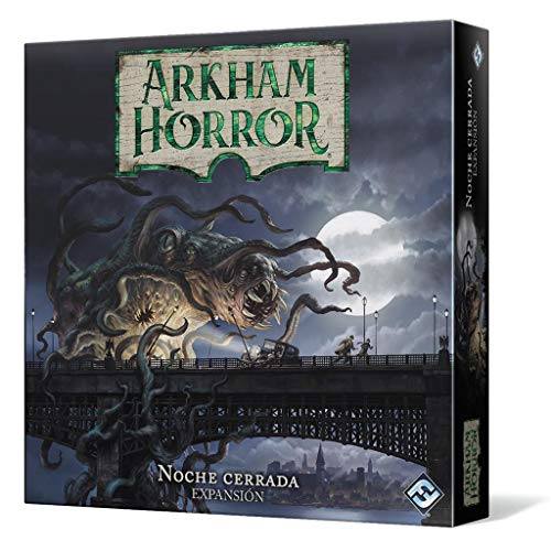 Fantasy Flight Games- Arkham Horror - Noche Cerrada, Color (AHB04ES)