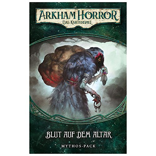 Fantasy Flight Games ffgd1104Arkham Horror: LCG–sangre en el altar Mythos de Pack (3) de Dunwich Alemán , color, modelo surtido