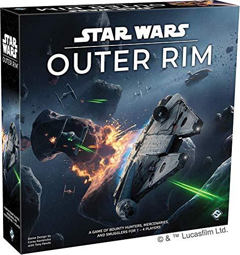 Fantasy Flight Games FFGSW06 Star Wars: Außenrand, Mehrfarbig