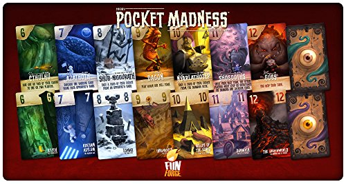 Fantasy Flight Games FFOPMUS01 Pocket Madness, Multicolor