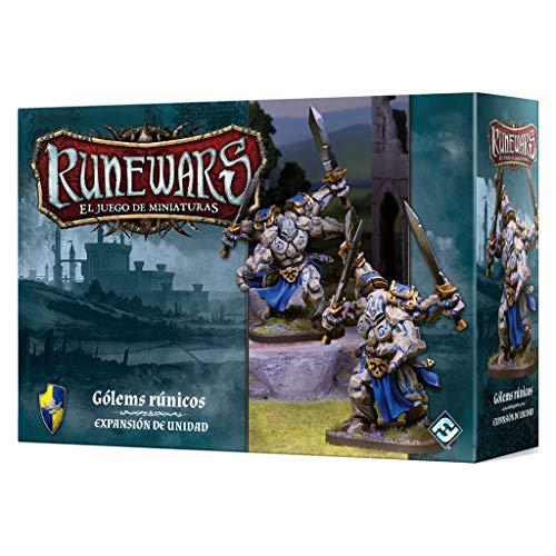 Fantasy Flight Games- Gólems rúnicos - Runewars: EL Juego de miniaturas - Español, Color (FFRWM04) , color/modelo surtido