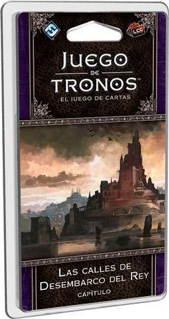 Fantasy Flight Games- Juego de tronos lcg - las calles de desembarco del rey - español, Multicolor (FFGT33) , color/modelo surtido