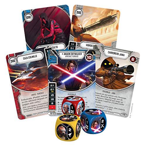 Fantasy Flight Games- Star Wars Destiny: Rivales Set de Draft - Español, Color (FFSWD06)