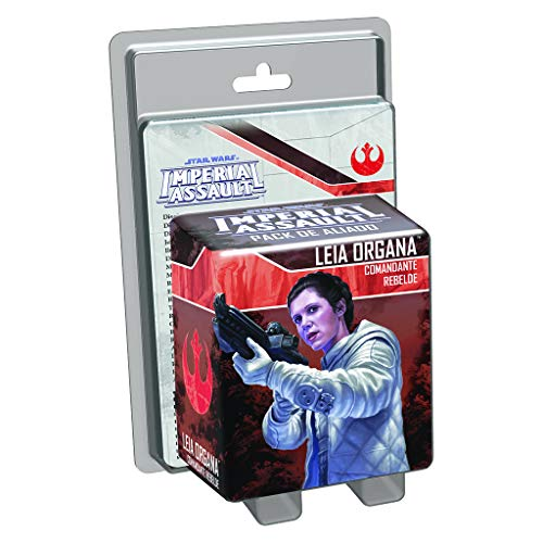 Fantasy Flight Games- Star Wars Imperial Assault, Princesa Leia, Comandante Rebelde (Edge Entertainment EDGSWI22)