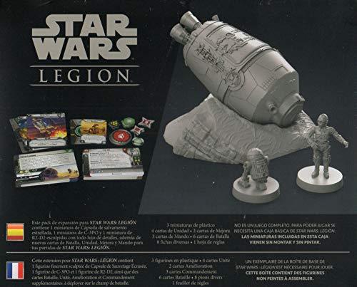 Fantasy Flight Games- Star Wars Legion - Cápsula de Salvamento Estrellada, Color (SWL43ES)