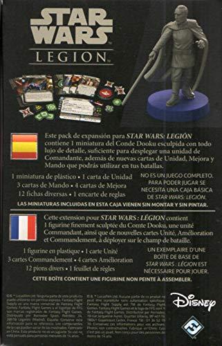 Fantasy Flight Games- Star Wars Legion - Conde Dooku, Color (SWL45ES) , color/modelo surtido