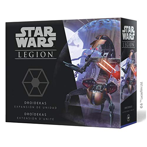 Fantasy Flight Games- Star Wars Legión: Droidekas, Color (SWL50ES) , color/modelo surtido