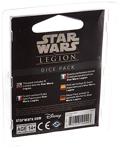 Fantasy Flight Games- Star Wars: Legión Set de Dados - Español, Color (FFSWL02)