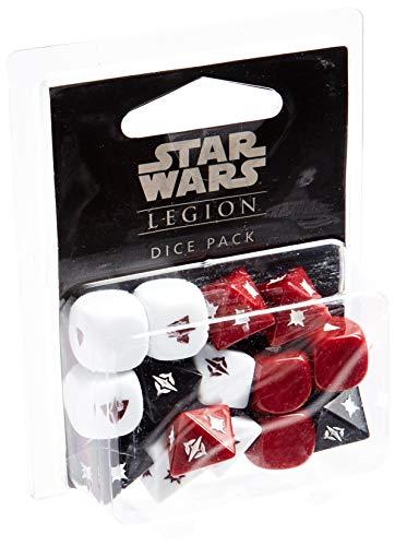 Fantasy Flight Games- Star Wars: Legión Set de Dados - Español, Color (FFSWL02)