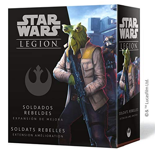 Fantasy Flight Games- Star Wars Legion - Soldados Rebeldes Expansión de Mejora, Color (SWL53ES)