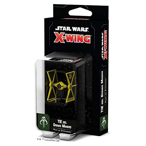 Fantasy Flight Games- Star Wars: X-Wing 2.0 Tie del Gremio Minero - Español, Color