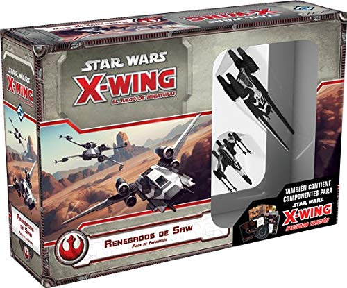 Fantasy Flight Games Star Wars X-Wing: Silenciador Tie-Español (FFSWX68)