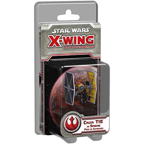 Fantasy Flight Games- Strar Wars X-Wing: Caza Tie de Sabine - Español (1)