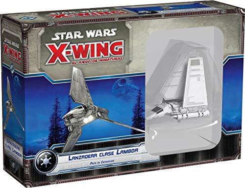 Fantasy Flight Games- Strar Wars X-Wing: lanzadera Clase Lambda - Español (FFSWX13)