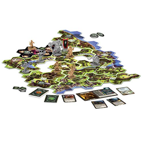 Fantasy Flight Games- Viajes por la Tierra Media, Color (JME01ES)