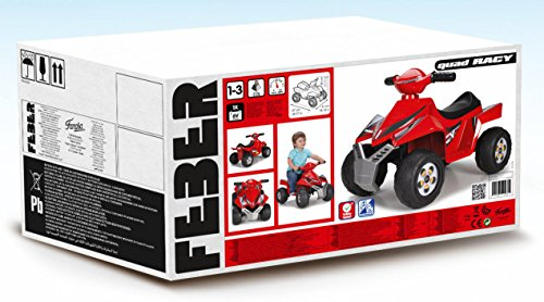 FEBER - Quad Racy 6 V (Famosa 800011252)