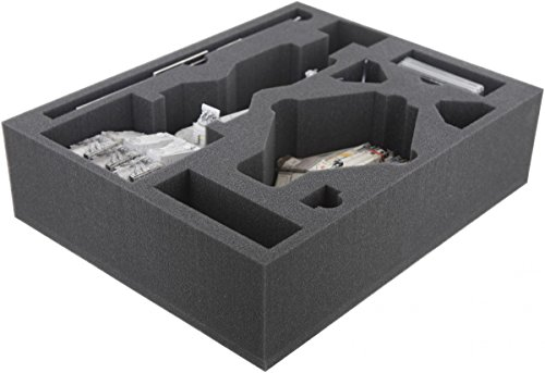 Feldherr FSJN090BO 90 mm (3.54 Inches) Full-Size Foam Tray for Star Wars X-Wing Tantive IV (CR90) and Ghost