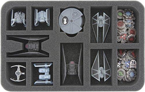Feldherr HSMEAC035BO 35 mm Foam Tray for Star Wars X-Wing B/SF-17 Tie Silencer