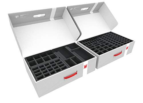 Feldherr Transporter with 2 Storage Boxes Compatible with More Than 540 Zombicide Figures and Accessories