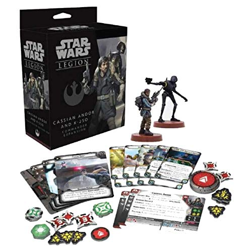 FFG Star Wars: Legion - Cassian Andor and K-2SO Commander Expansion