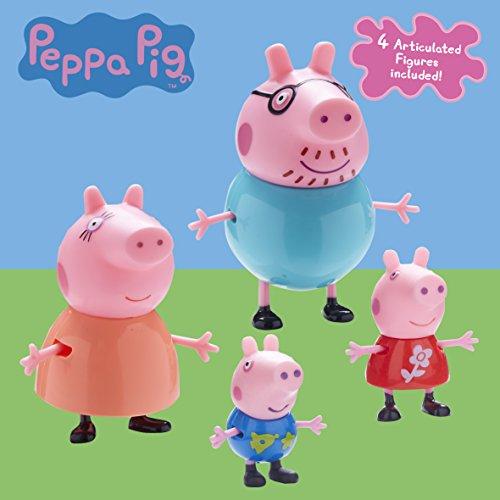 Figuras Familia Peppa Pig Pack 4.