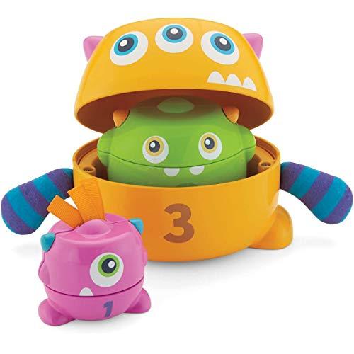 Fisher-Price - Monstruitos encajables, juguete bebé (Mattel FNV36)