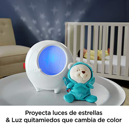 Fisher-Price - Proyector osito dormilón - juguetes bebe - (Mattel DYW48)