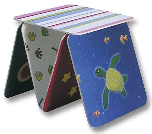 Folia 2326 - Coaster (posavasos), angulares, 9.3 x 9.3 cm, 100 piezas , color/modelo surtido