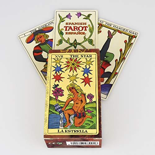 Fournier Español Baraja Tarot clásica de 78 Cartas, Color marrón (F21814)