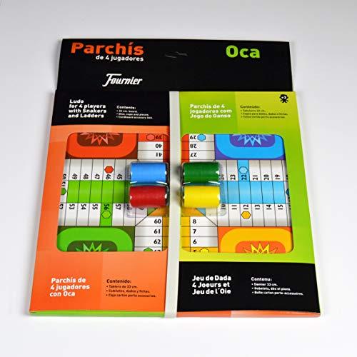 Fournier Parchis y Oca 33x33 cm Tablero, Multicolor, única (521111)