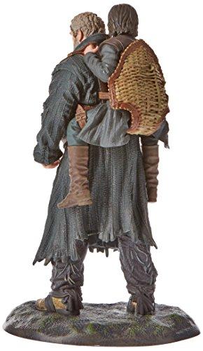 Game of Thrones Réplica Serie TV Hodor y BRAN, Figura 19 cm, Multicolor, Estándar (Dark Horse DKHHBO26340)