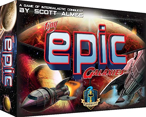 Gamelyn Games Tiny Epic Galaxies, Juego