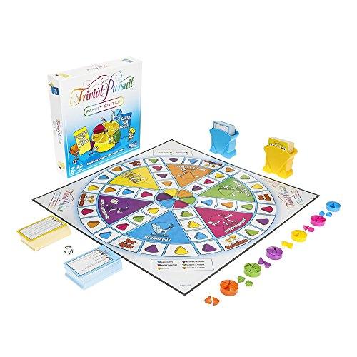 Games- Juego Trivial Pursuit Family Edition, Multicolor (Hasbro E1921102)