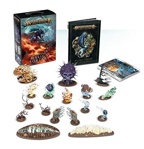 Games Workshop Warhammer Age of Sigmar: Malign Sorcery (Castellano)