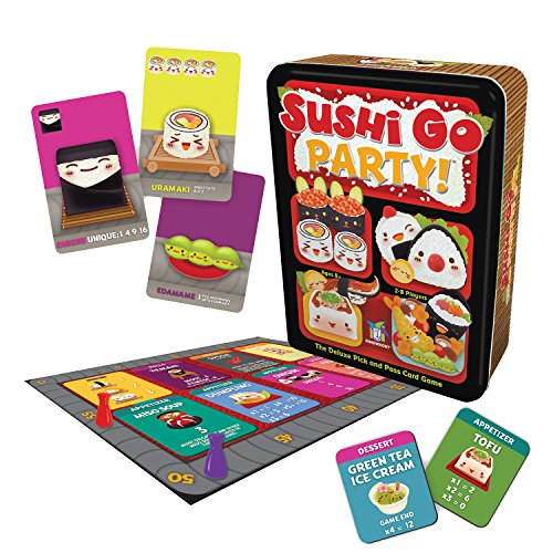 Gamewright Sushi Go Fiesta–El Juego de Cartas