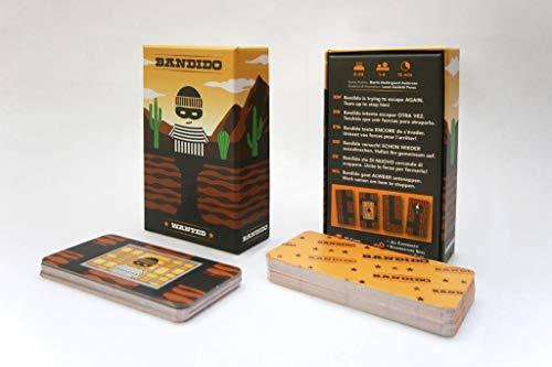 Gen x games Educativo para niños Bandido (Lúdilo) Juego de Cartas educati