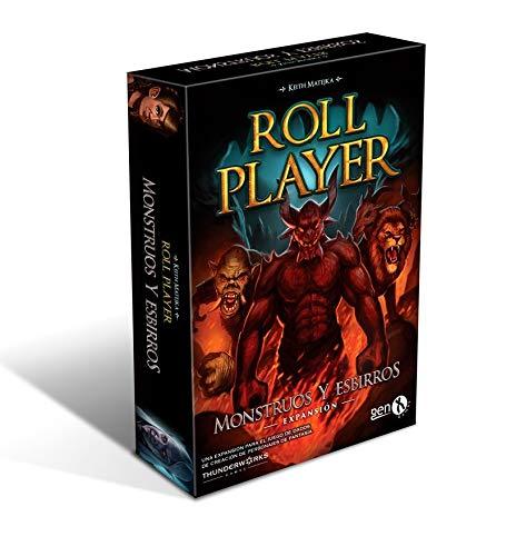 GENX Roll Player: Monstruos y Esbirros - Expansión Juego de Mesa [Castellano]