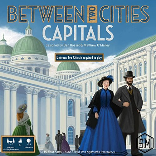 Ghenos Games – Capitals [Expansión para Between Two Cities], BTCC